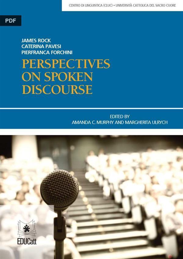 written and spoken discourse